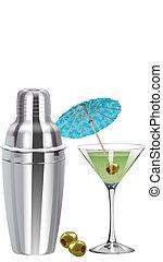 shaker, cocktail