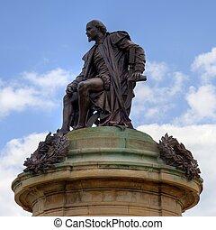 shakespeare de william, estatua