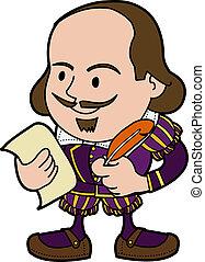 shakespeare, illustration