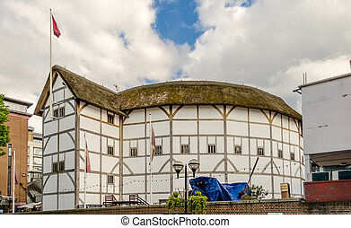 shakespeare's, globe, londen, theater