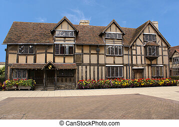 William Shakespeare's Birthplace in Stratford, England