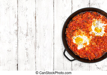 Shakshouka On Light Background