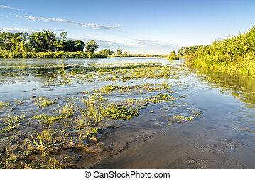 Dismal RIver meandering trough Nebraska Sandhills