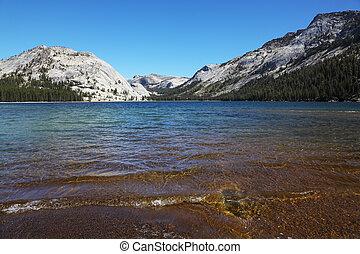 Shallow on lake