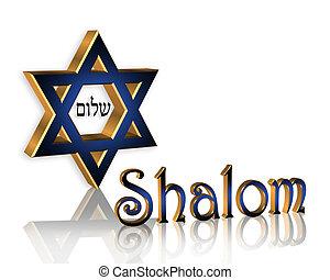 shalom, hanukkah, fond, juif