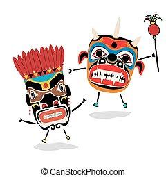Shaman - Ancient shaman characters