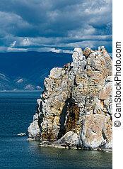 Shaman Mountain, Cape Burkhan, island Olkhon