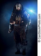 shaman, strijder