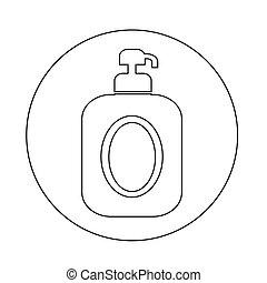 shampoo, ícone