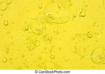 Shampoo Bubbles - A close up shot of shampoo bubbles