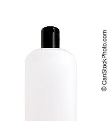 shampoo, garrafa plástico