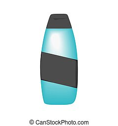 Shampoo on a white background. Vector illustration
