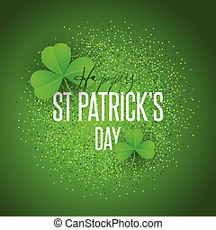 Shamrock background for St Patricks Day
