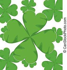 shamrock for St. Patrick Day