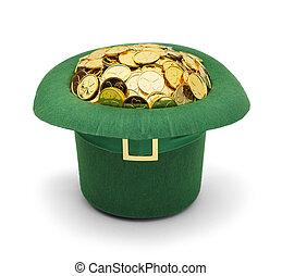 Shamrock Gold Leprechuan Hat