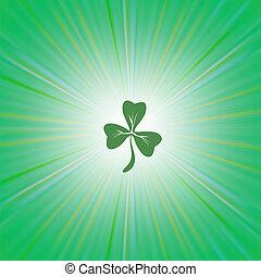 Shamrock Green Leaf