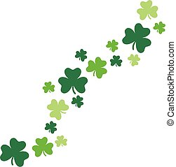 Shamrocks for St. Patrick's Day design