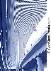 Shanghai airport buildings