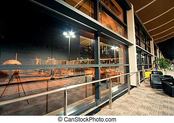 Shanghai airport lounge