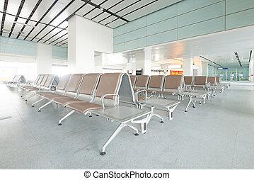 shanghai, banco, aeropuerto, pudong