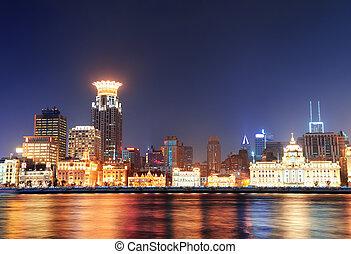 shanghai, dějinný, architektura