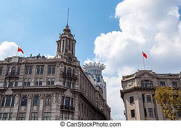 shanghai, edifícios históricos