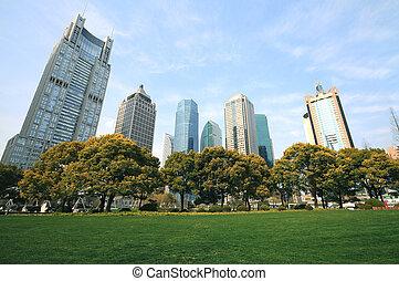 Shanghai Lujiazui city landscape