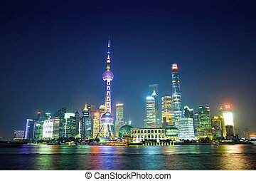 shanghai, noche