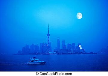 shanghai, nuit
