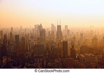 shanghai, ocaso