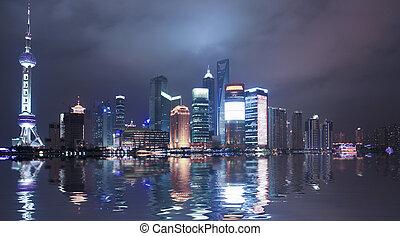 shanghai, porcelaine
