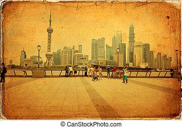 shanghai, porzellan