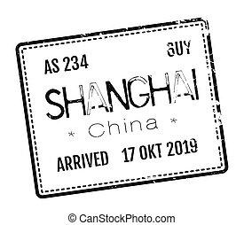 Shanghai postage stamp