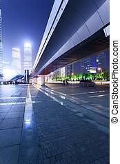 shanghai, pudong, noche