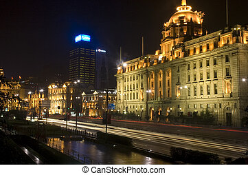 the bund - shanghai the bund night view