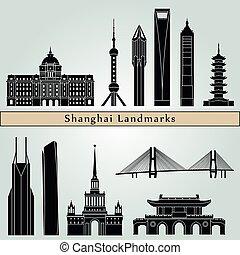 Shanghai V2 Landmarks