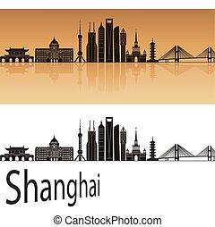 Shanghai V2 skyline