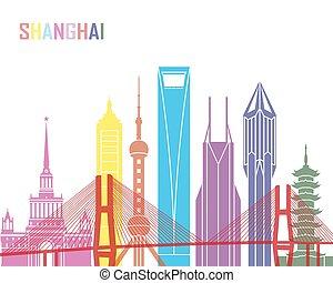 Shanghai V2 skyline pop