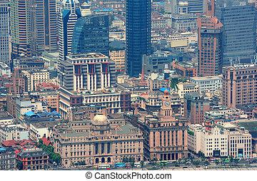 shanghai, vista aérea