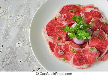 shank beef