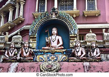 shankaracharya, sien, disciples, shripada