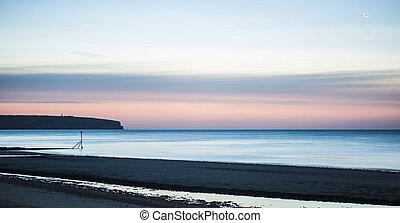 Shanklin Beach at Dawn