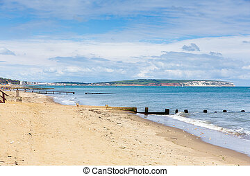 Shanklin beach Isle of Wight - Shanklin Isle of Wight a...