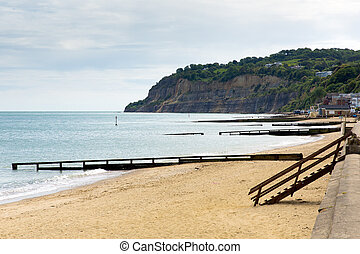 Shanklin beach Isle of Wight uk