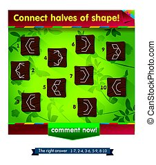 shape game for children