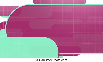 Shape Template Two Background Loop