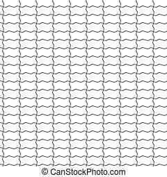 shaped bricks seamless pattern