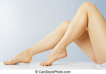 shapely legs - beautiful shapely female legs