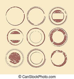 shapes for labels and stamps