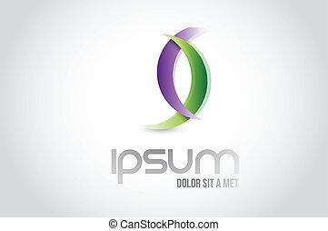 shapes logo symbol illustration design